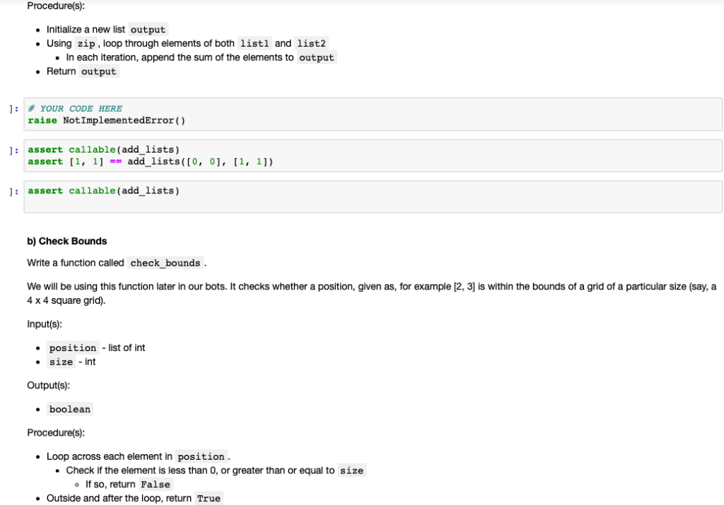 Solved: Example: Zip A Reasonably Common Task In Python Is