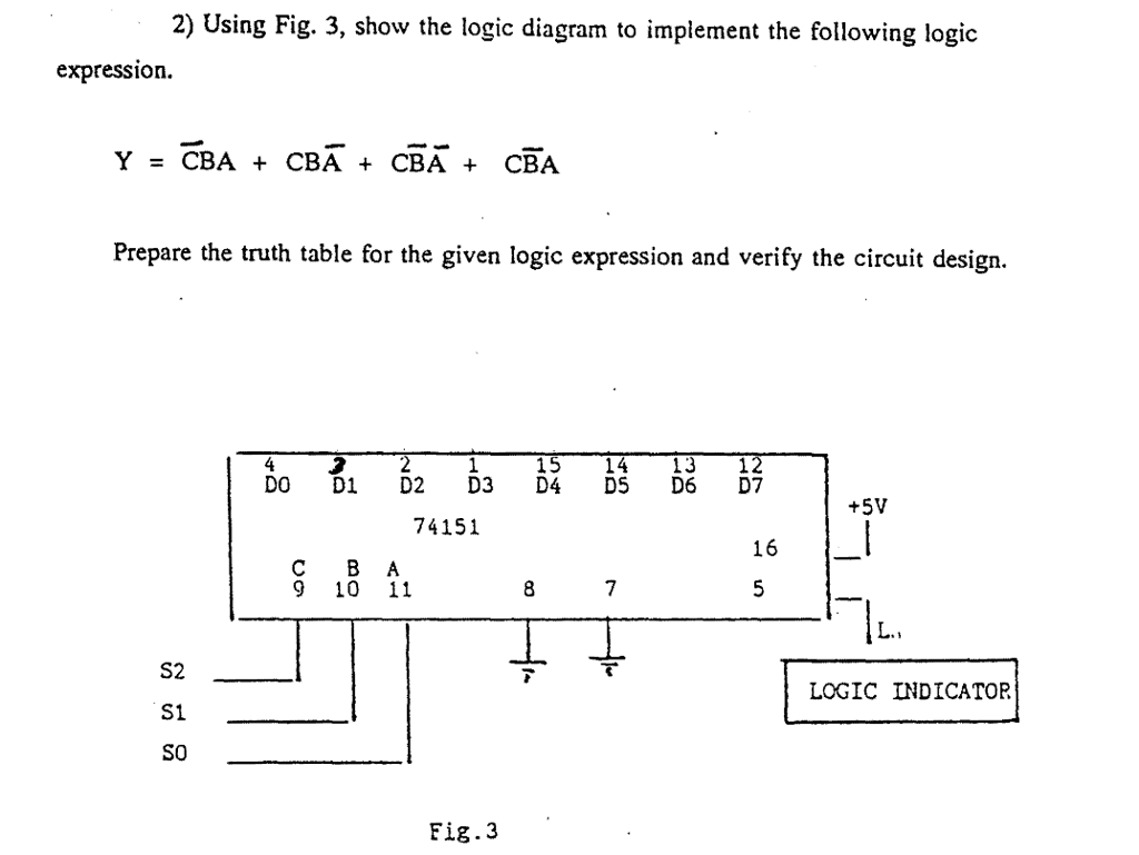 WRG-6760] Logic Diagram Truth Table on