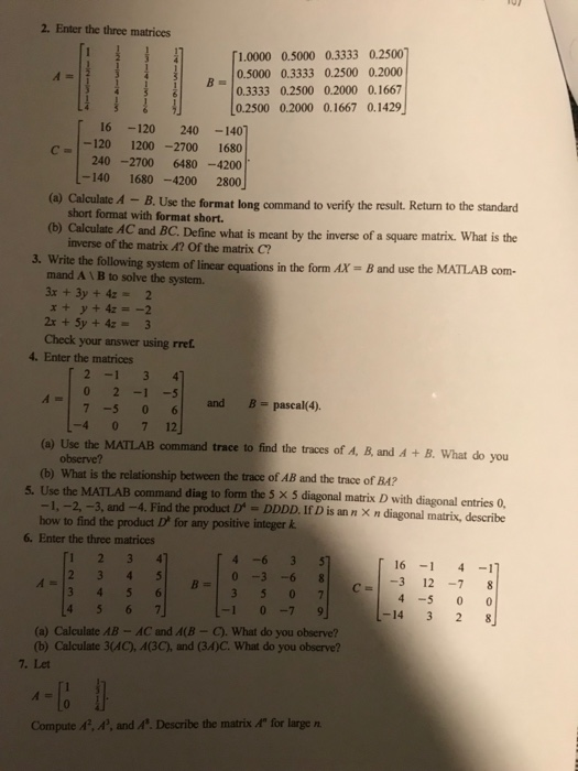 Advanced math archive october 03 2017 chegg 2 enter the three matrices 10000 05000 03333 02500 r05000 03333 02500 fandeluxe Images