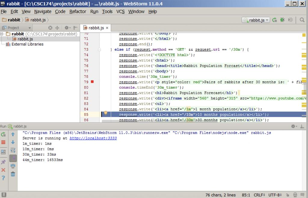 Solved: Project Description: You Are Given A Node js Proje