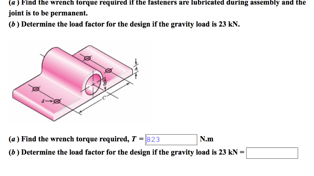 Solved: The Figure Shows A Cast-iron Bearing Block That Is