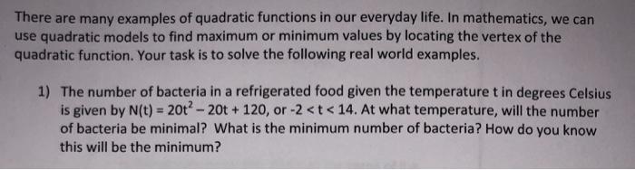 mathematics in everyday life examples