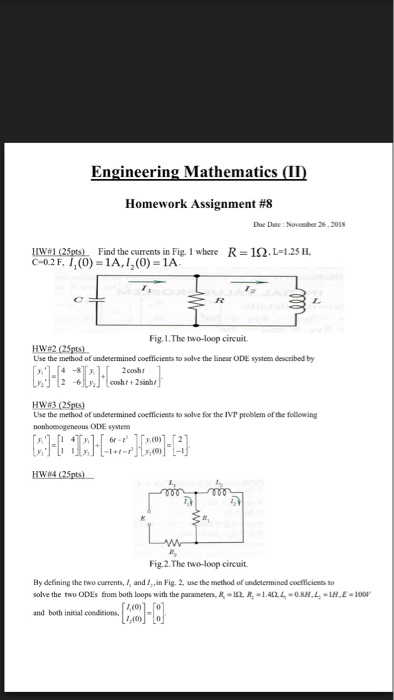 engineering mathematics 3 solved problems