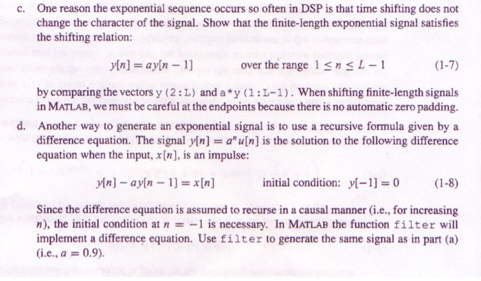 One Reason The Exponential Sequence Occurs So Ofte