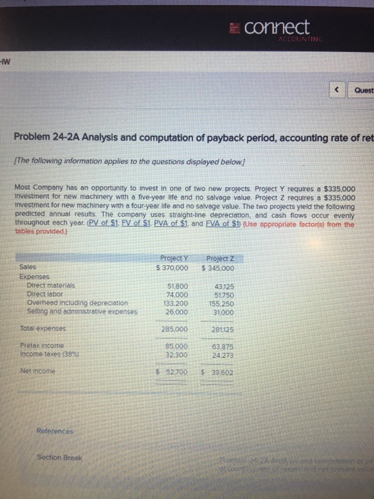 Help accounting homework problem 19 2a