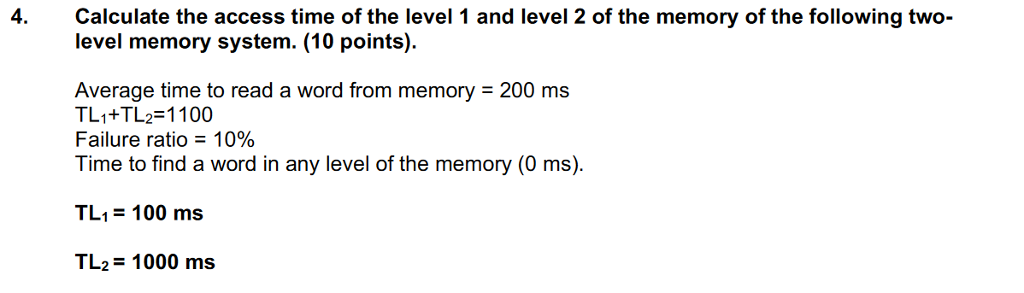Solved: Pretty Sure This Is The Formula: Average Time = TL