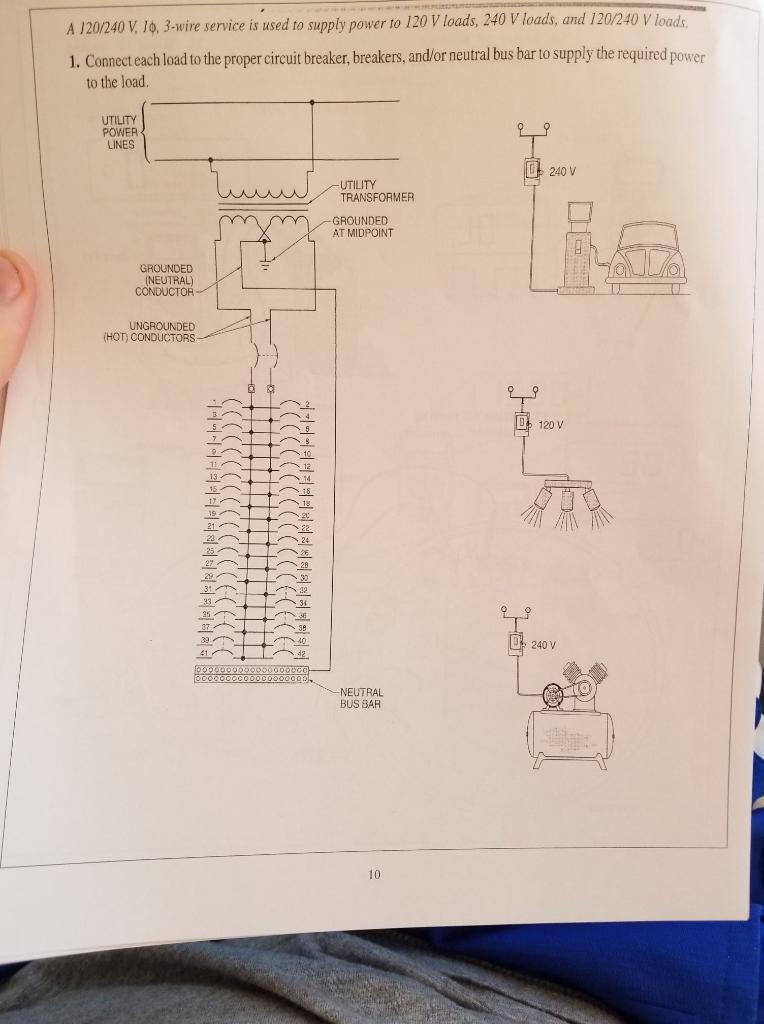 2 pole breaker, 60 amp breaker, 15 amp breaker, 20 amp breaker, 3 phase breaker, on 3 wire breaker diagram