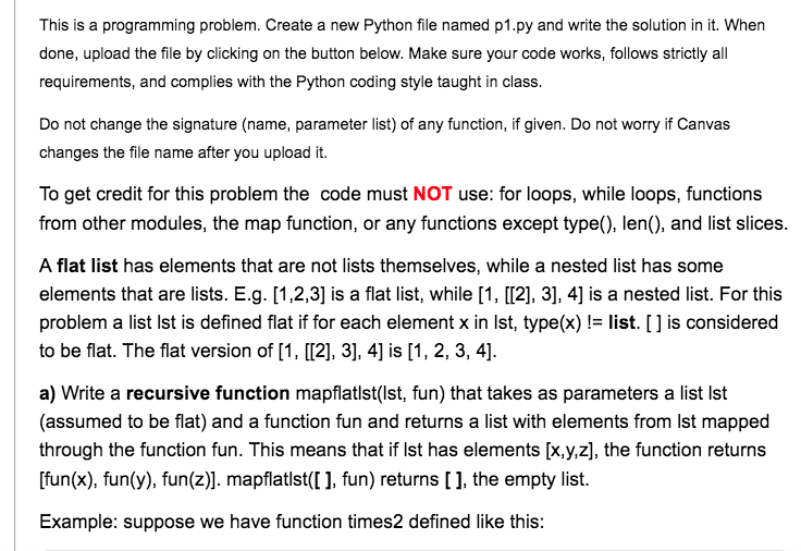 Solved: This Is A Programming Problem  Create A New Python