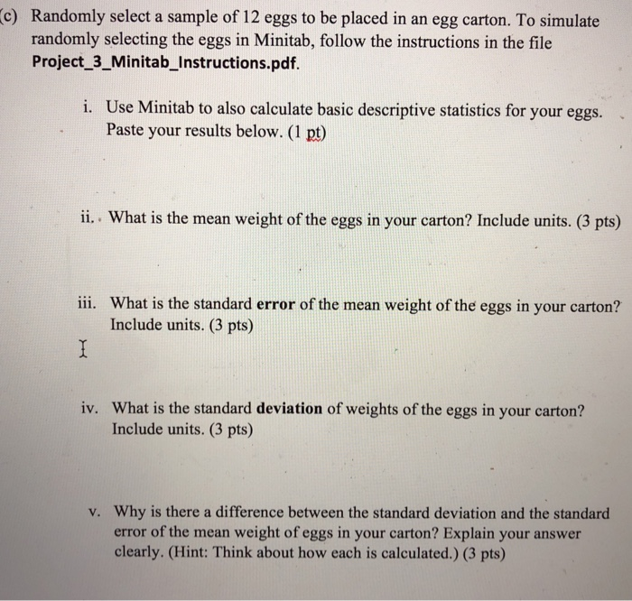 Solved: A Dozen Eggs (50 Points) In This Exercise, We Will