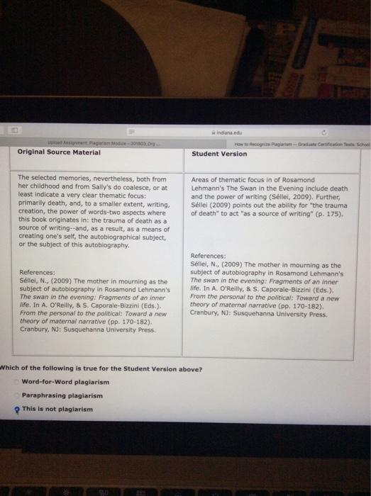 Solved: Indiana.edu Original Source Material Student Versi ...