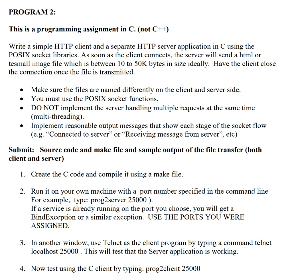 The Assignment 2 Project 3 Is Refering To Is The F