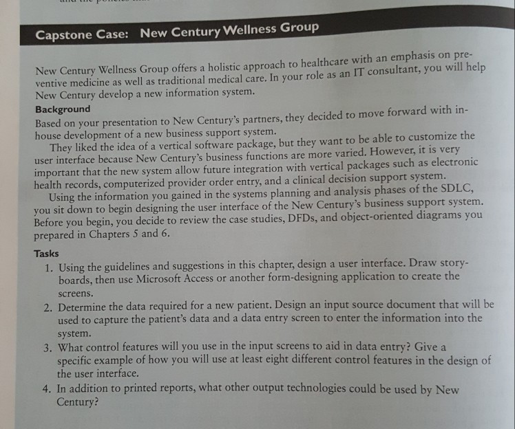Solved Systems Analysis And Design 10th Edition Page 340 Chegg Com