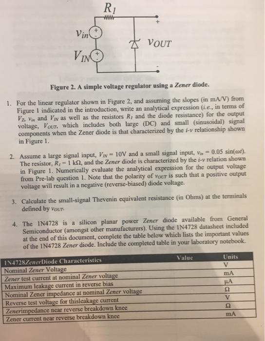 RI In VOUT Figure 2  A Simple Voltage Regulator Us