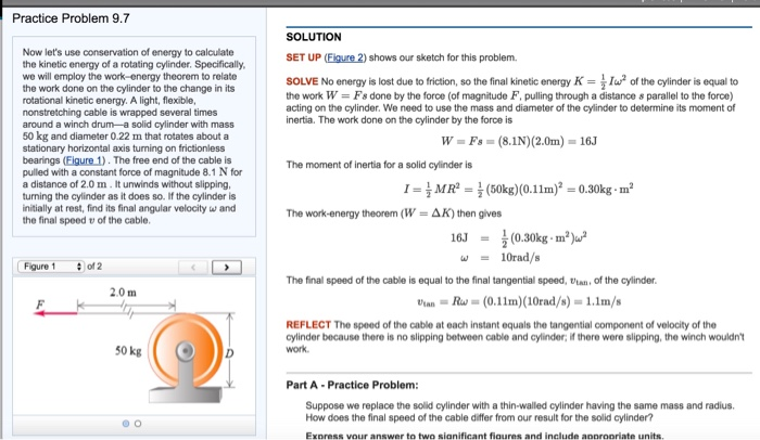 conservation of energy with friction problems