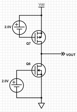 Solved The Schematic Shows A Pair Of Fets In This Circui