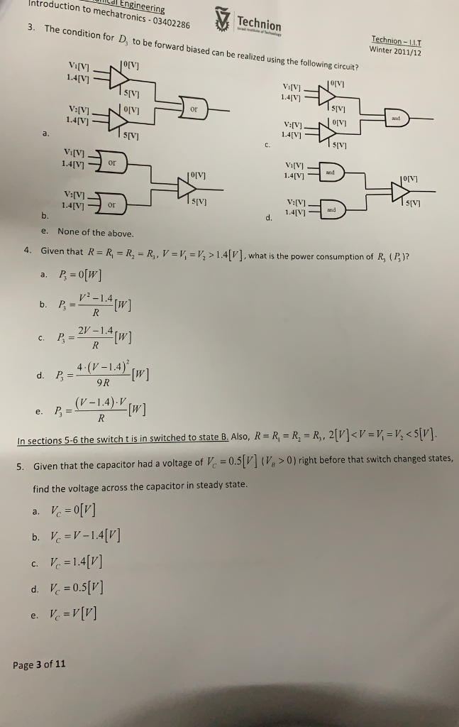 Solved: 2019/2/6 Faculty Of Mechanical Engineering Roducti
