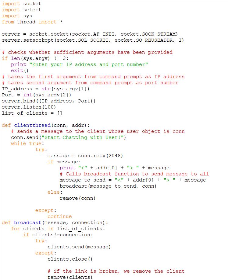 Run The Following Python Programs And Create An AE    | Chegg com