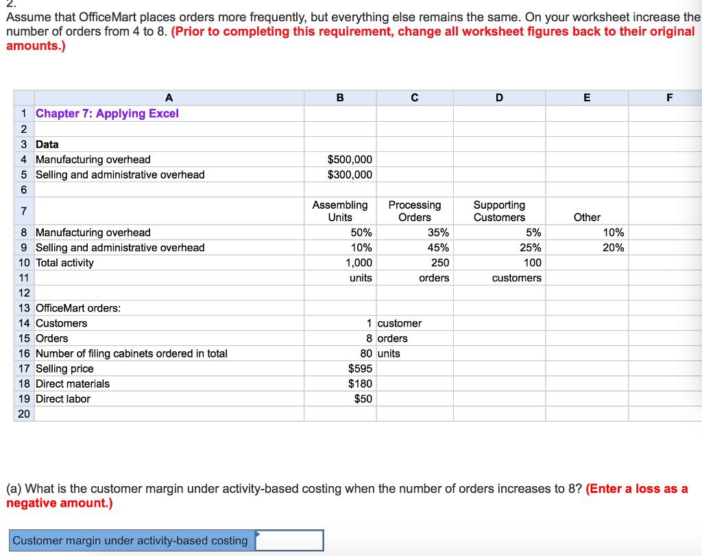 activity based costing example excel - Ataum berglauf-verband com