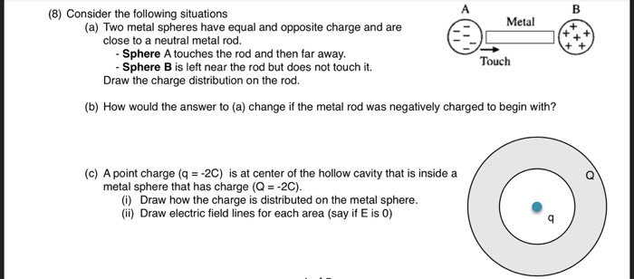 Solved 8 Consider The Following Situations A Two Meta Chegg Com