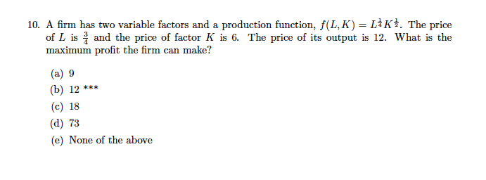 what is a variable factor