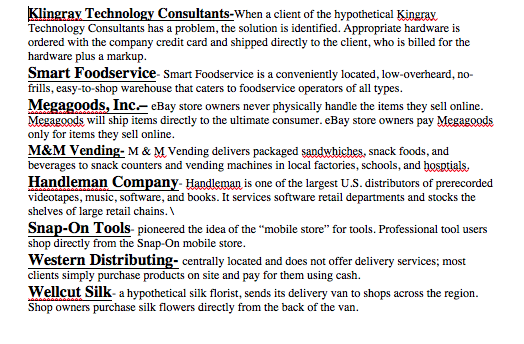 Solved: TechnologyHandleman Company Consultants Cash-and-C