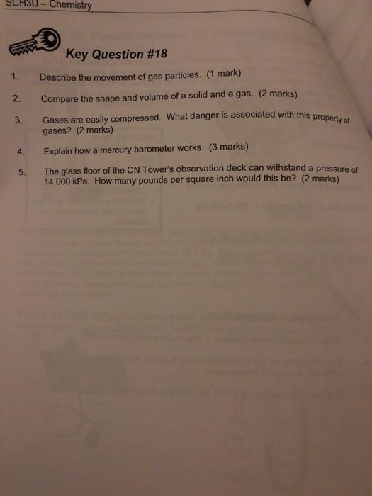 Sch3u answers