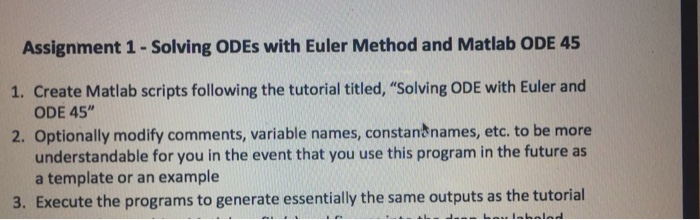 Matlab tutorial for appllied differential equations ii.