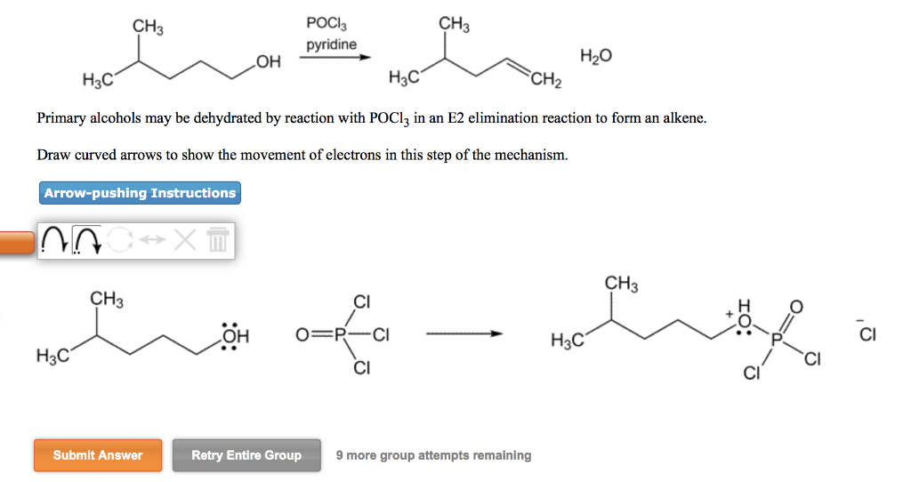 Solved Dehydration Reactions Of Alcohols Tertiary Alcohol