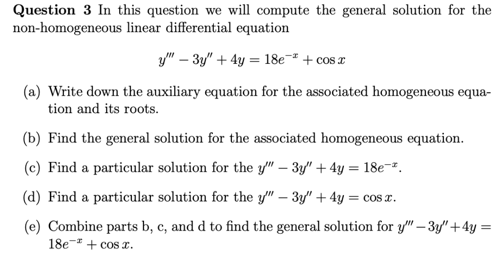 Solved: Question 3 In This Question We Will Compute The Ge