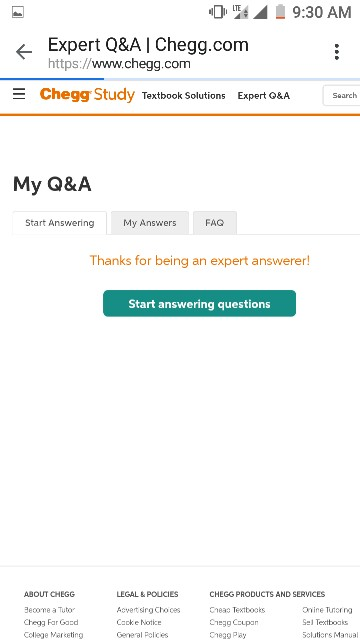 Solved: I Login To Http://www chegg com/my/expertqa To Slo