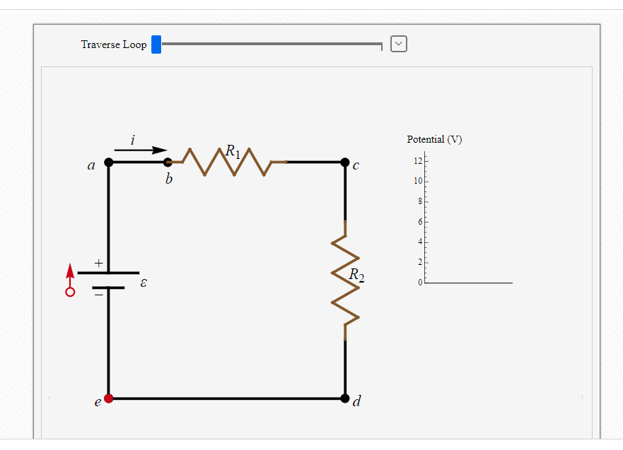 question: interactive exercises 27 01: single-loop circuit with ideal  battery figure 27 1 1 is a diagram that represents an electric circuit  consisting of