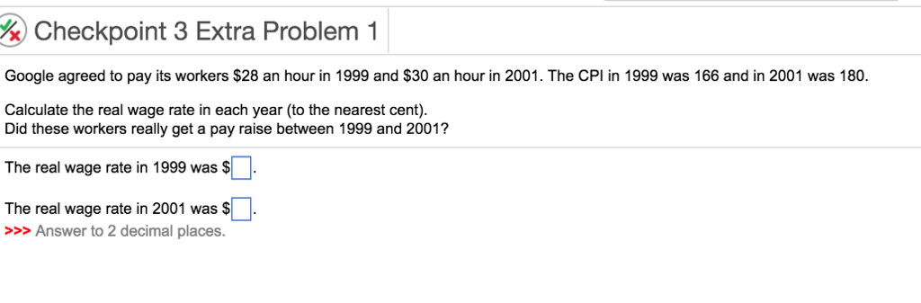 Solved: %) Checkpoint 3 Extra Problem 1 Google Agreed To P