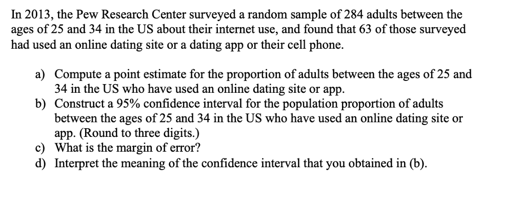 pew research online dating