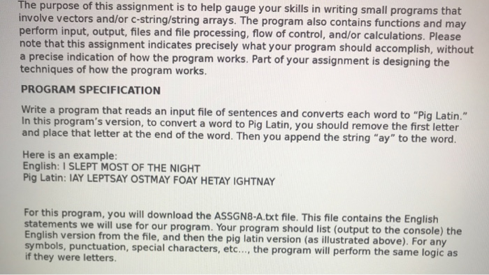 Solved: The Purpose Of This Assignment Is To Help Gauge Yo