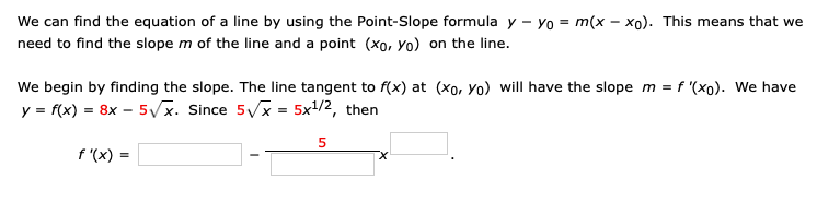 Solved We Can Find The Equation Of A Line By Using The Po Chegg Com Midpoint calculator, formula, example calculation (work with steps), real world applications and practice problems to learn how to find midpoint of a line segment in geometry. we can find the equation of a line by