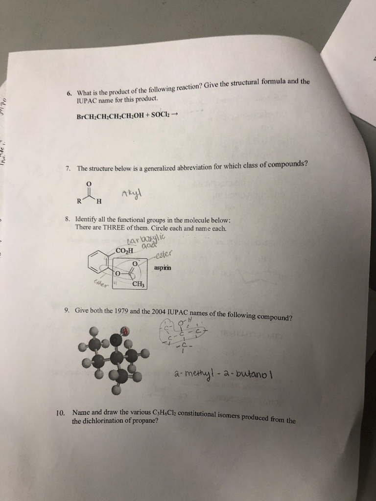 Solved: What Is The Product Of The Following Reaction? Giv