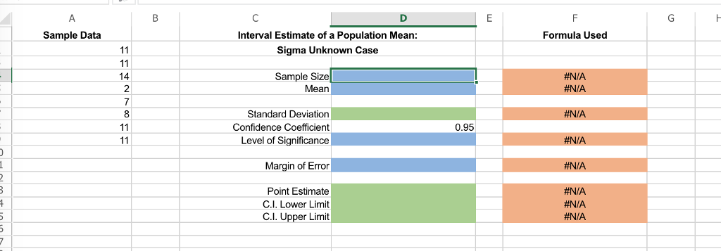 Solved: Sample Data From A Normal Population Are Located I