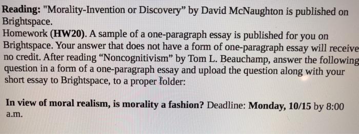 Solved: Reading: