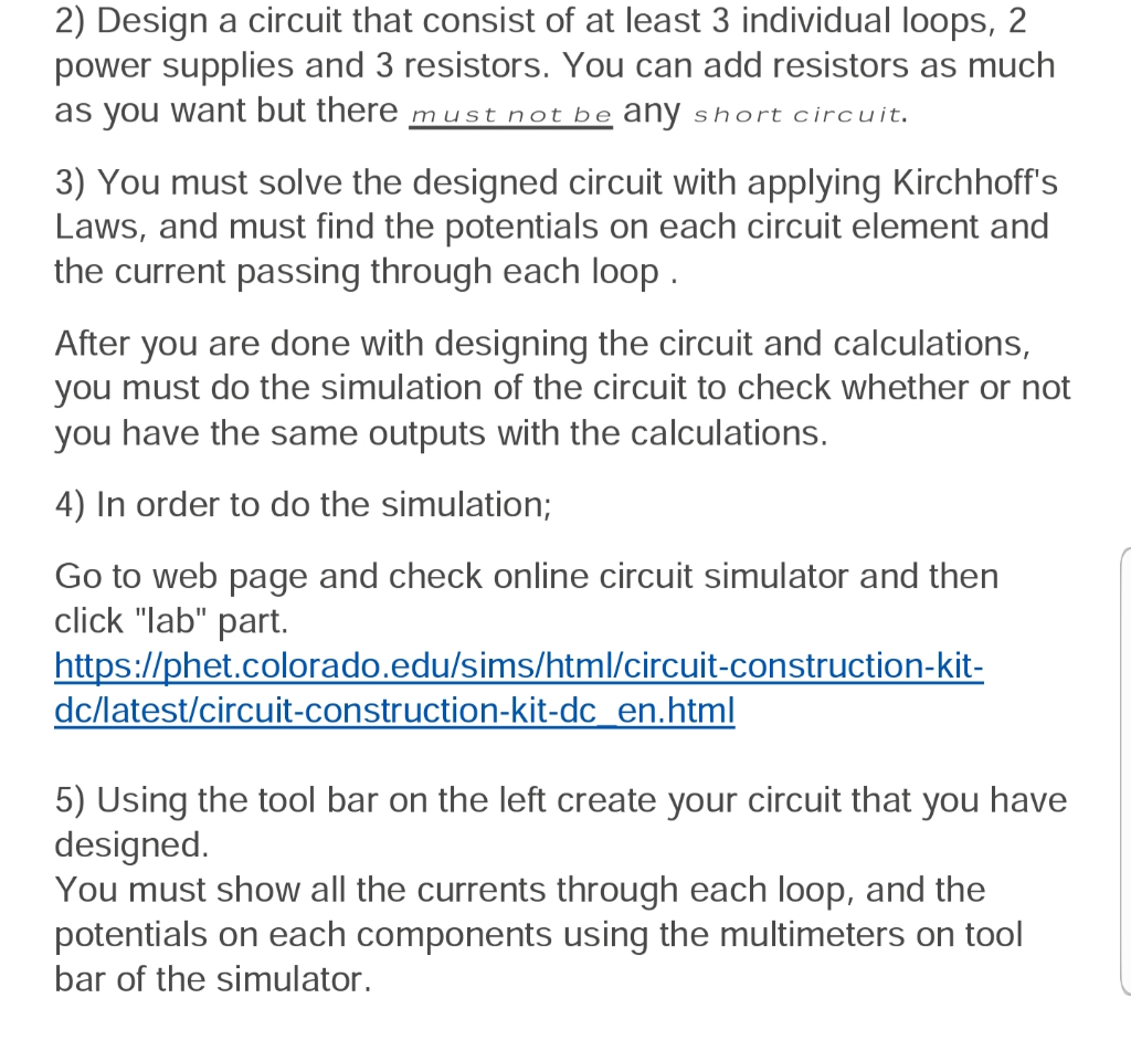 Solved: Https://phet colorado edu/sims/html/circuit-constr