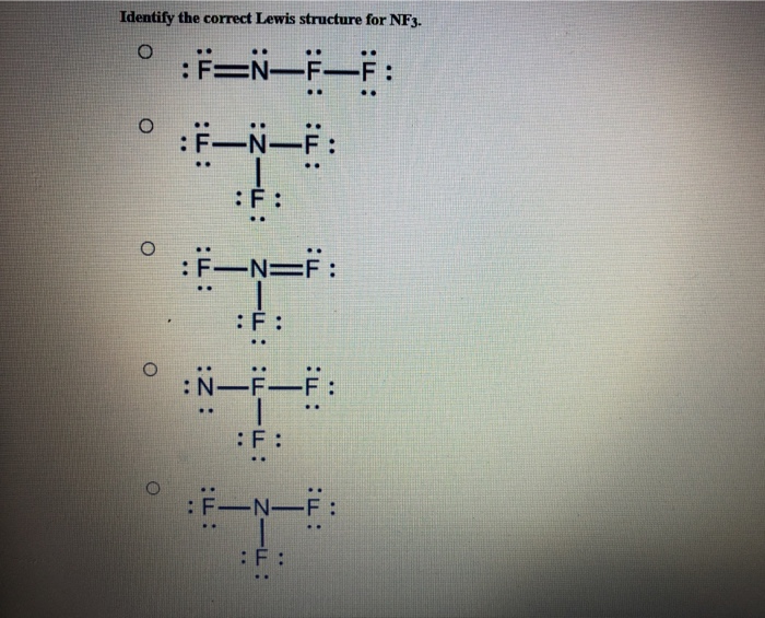 Nf3 Lewis Structure Wiring Diagram