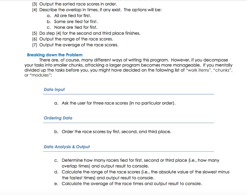 Please Code The Following Using JAVA Language, Ple    | Chegg com