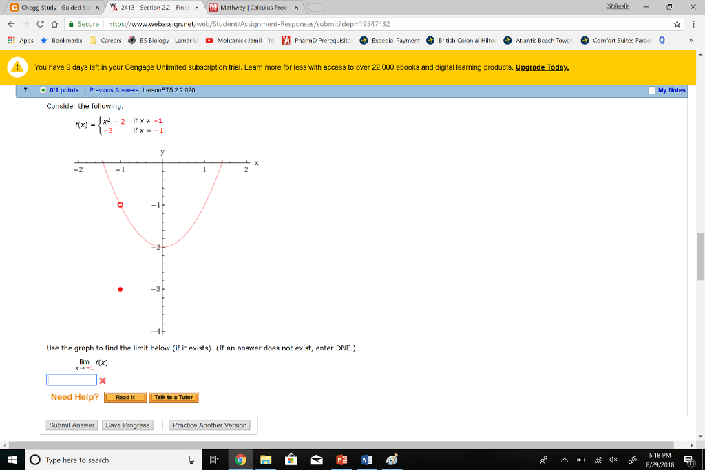 Solved: Calculus question | Chegg.com on