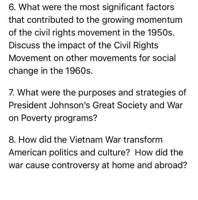 factors causing social change