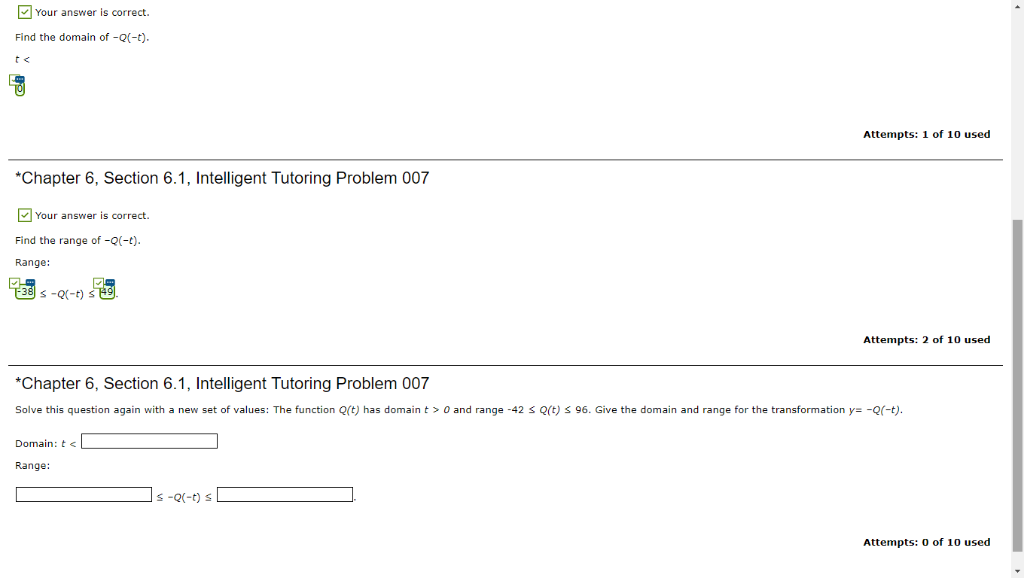Solved: Chapter 6, Section 6 1, Intelligent Tutoring Probl