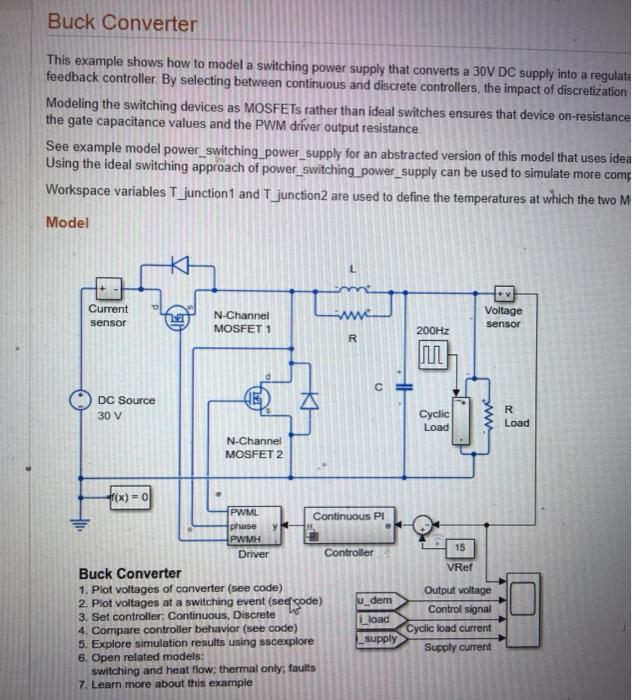 Project #2: Build And Design A Control Diagram Of     | Chegg com