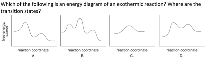 Solved Which Of The Following Is An Energy Diagram Of An