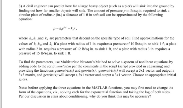Solved: By Using Matlab Answer The Question, One Part Of T