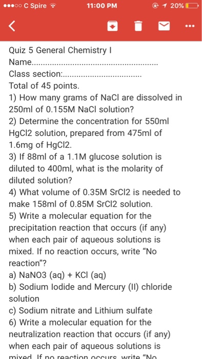 how to get 0.2m nacl from 1m nacl