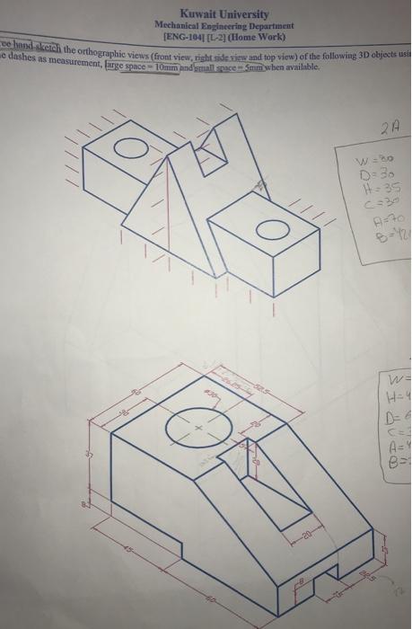 Wonderful Kuwait University Mechanical Engineering Department ENG 104] [L 2] (Home