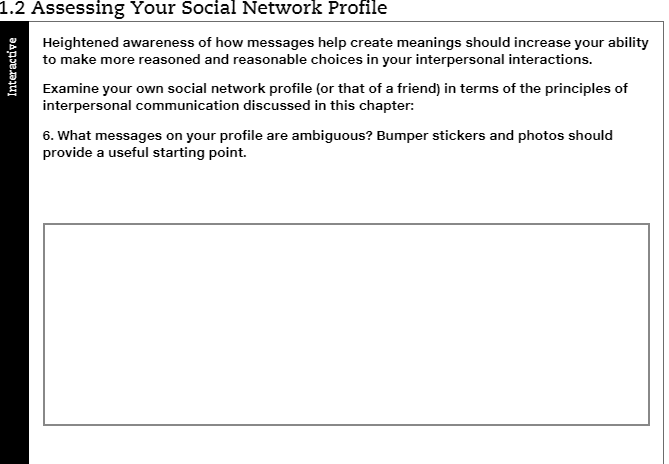 Solved: 1 2 Assessing Your Social Network Profile Heighten